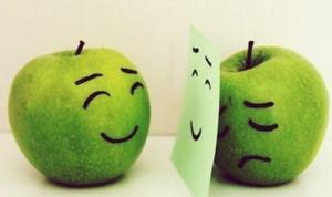 smile ()sad
